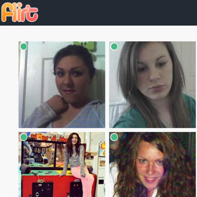 webcam chat flirt